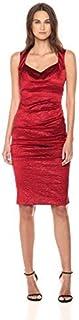 Nicole Miller Women's Crinkle Sweetheart Dress