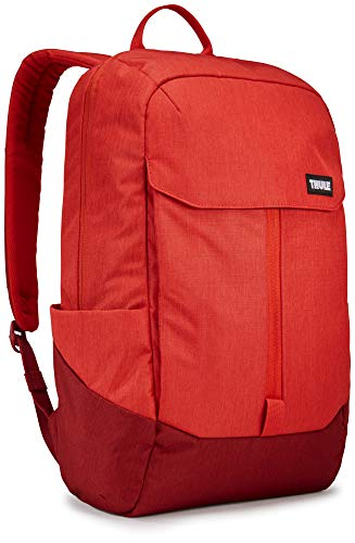 Thule 20 Litre Lithos Backpack with 15.6 Inch Laptop Compartment Red