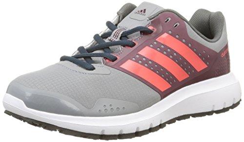 adidas Duramo 7 ATR W - Zapatillas para Mujer, Color Gris/Rojo/Rosa, Talla 44