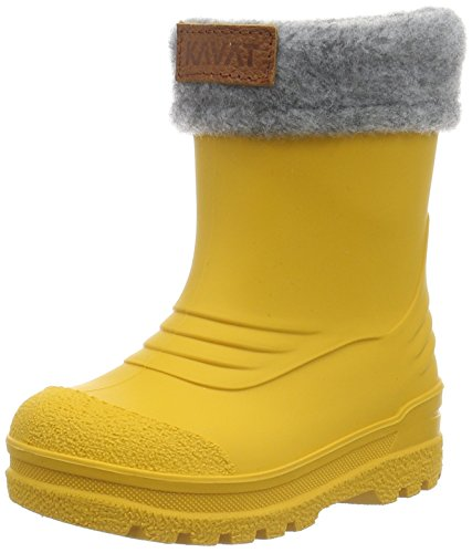 Kavat Unisex-Kinder Gimo WP Gummistiefel, Gelb (Yellow 930), 34