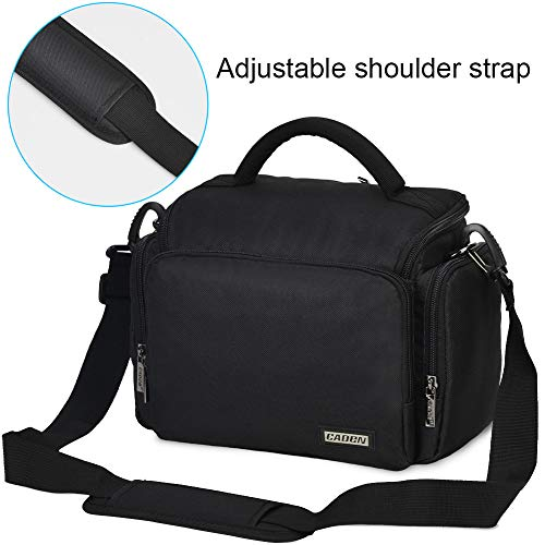 CADEN DSLR SLR Camera Bag Backpack for Mirrorless Cameras/Photographers, Camera Case Backpack for Nikon Canon Sony Lens Tripod Accessories Photography Men Women