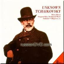 Unknown Tchaikovsky: Three Pieces, Snegurochka, Incidental Music, Andante, Allegros a. o. - Rozhdestvensky, Cherkasov, Provatorov, Dudarova