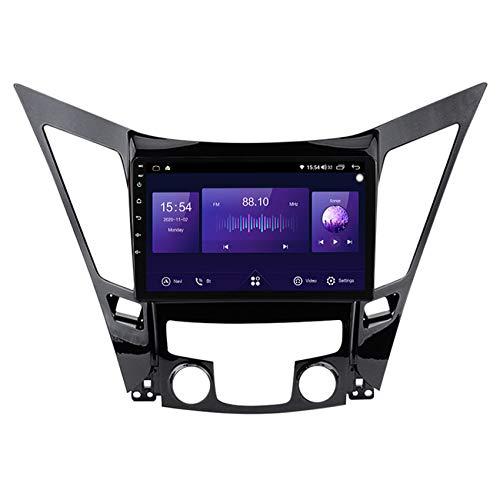 ADMLZQQ Android 10 Estéreo de Coches para Hyundai Sonata 2011-2015 GPS Car Video Navigation 9 Pulgadas de Pantalla táctil Soporte carplay DSP RDS/SWC/FM+Cámara Trasera,7862 4g+WiFi:6+128g