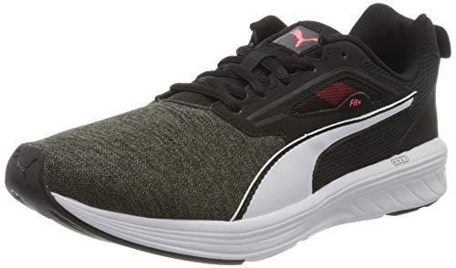 PUMA Unisex-Erwachsene NRGY Rupture Sneaker, Schwarz Black White-Ignite Pink, 39 EU