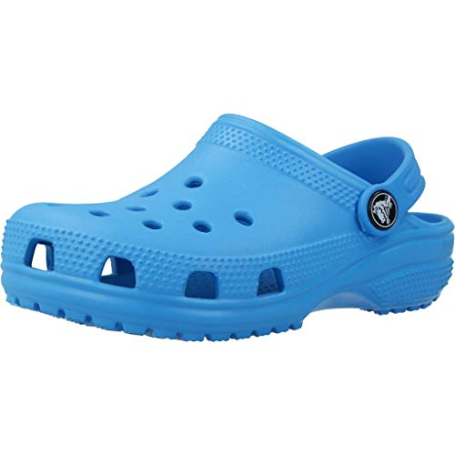 Crocs Kids' Classic Clog, Ocean, 8 M US Toddler