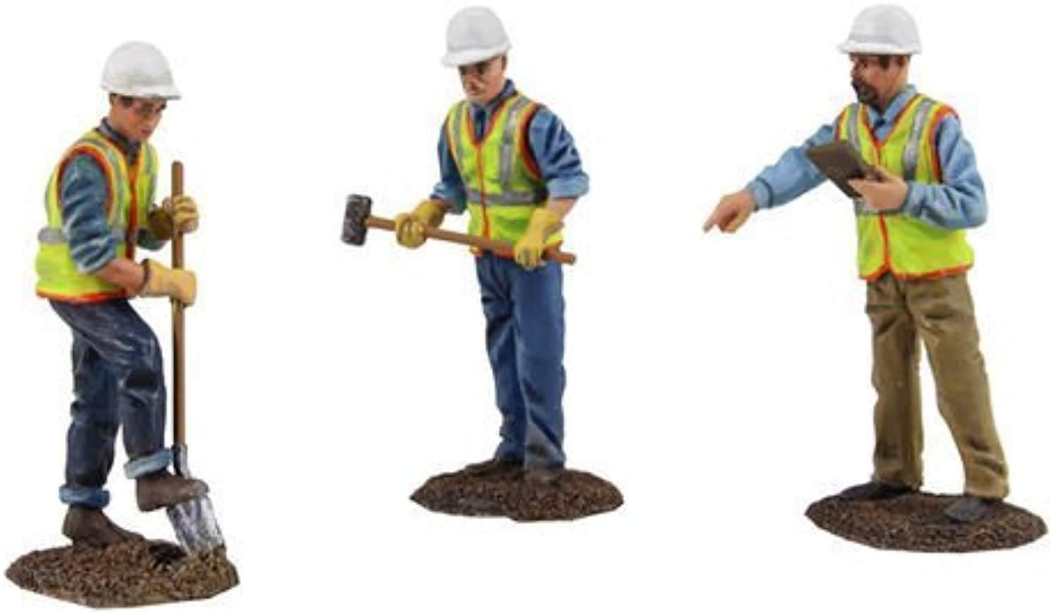 Diecast Metal Construction Figures 3pc Set  2 1 50 by First Gear 90-0481 by First Gear