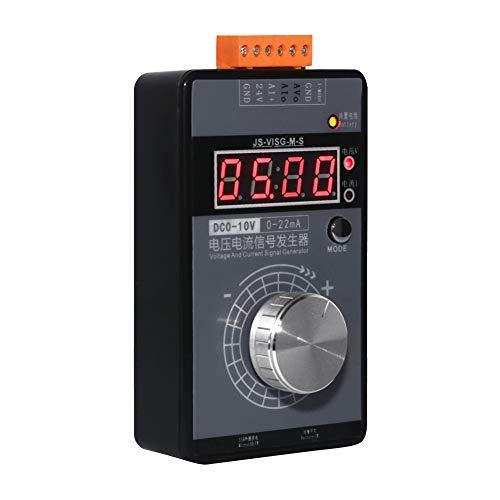 Dušial Digital 0-10V Voltage Signal Generator 0-20mA Current Transmitter Analog Simulator