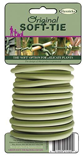 Tierra Garden 50–3010 Haxnicks Fin Doux Cravate, 26,3 ', Vert 16.4' Green