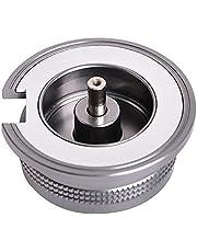 Gcroet Acampar al convertidor del Adaptador de Gas Estufa de butano Conexión para Frasco de Tornillo Cartucho de Gas, Estufa de Gas Adaptador de Cabezal de conversión al Aire Libre Cocina Adaptador