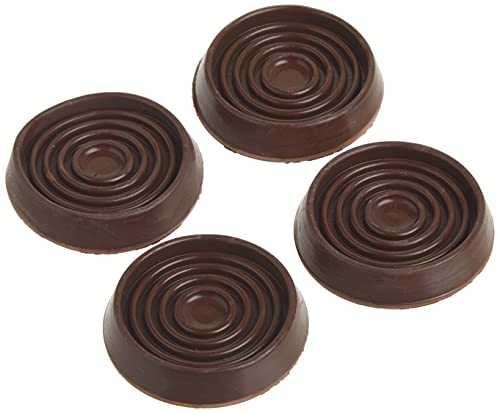 Shepherd Hardware 9077 1-3/4-Inch Round Rubber Furniture Cups, 4-Pack