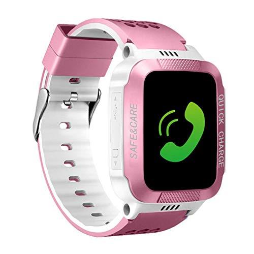 Reloj inteligente para niños con localizador GPS, podómetro, rastreador de fitness, cámara táctil, antipérdida