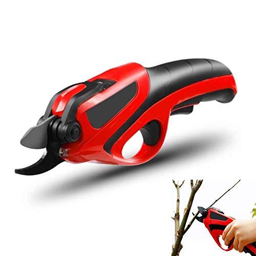 Tijeras eléctricas de poda – Tijeras eléctricas inalámbricas recargables para bordes de ramas de árbol, 4 V, tijeras de podar para árbol bonsái, 14 mm de diámetro, hoja extra 2