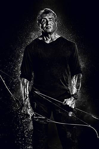 Lionbeen Rambo Last Blood - Movie Poster - Cartel de la Pelicula 70 X 45 cm (Not A DVD)