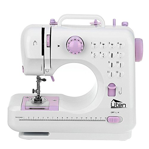 Portatil máquina de coser manual electrica maquina coser 12 Puntadas