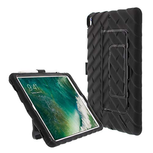 Gumdrop Hideaway Case Designed for The New Apple iPad Air 10.5 3rd Gen (2019) Tablet for K-12 Students, Teachers, Kids - Black, Rugged, Shock Absorbing, Extreme Drop Protection