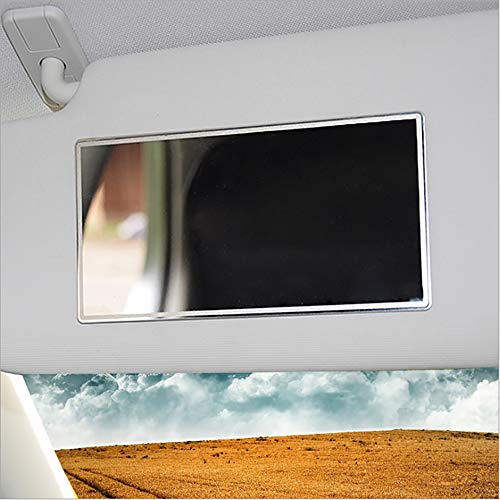 ZZXL Parasol de acero inoxidable espejo interior espejo espejo decorativo para coche suministros de coche prácticos seguro y duradero