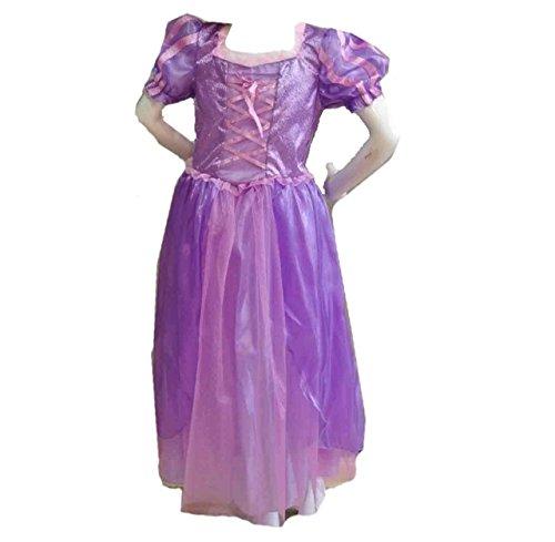『【コスプレ】Desirabl 塔の上のラプンツェル ラプンツェル風ドレス 子供用 Sサイズ』のトップ画像