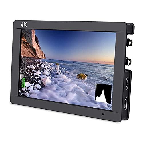 RUMUI DSLR de 7'en el Monitor de Campo de la cámara 3G SDI 4K Video Assist Peaking Focus IPS Full HD 1920x1200 Salida de Entrada Compatible con HDMI para FW703