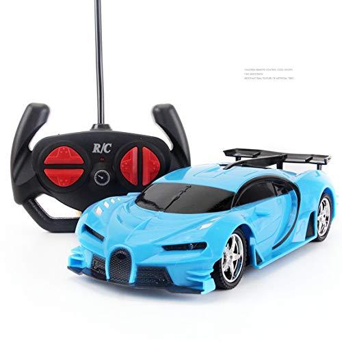 SeniorMar Rennwagen 1:18 Stein Fernbedienung Rennwagen Kunststoff Elektrisch Aufladbarer Spielzeugauto-Stall Werbespielzeug für Kinder