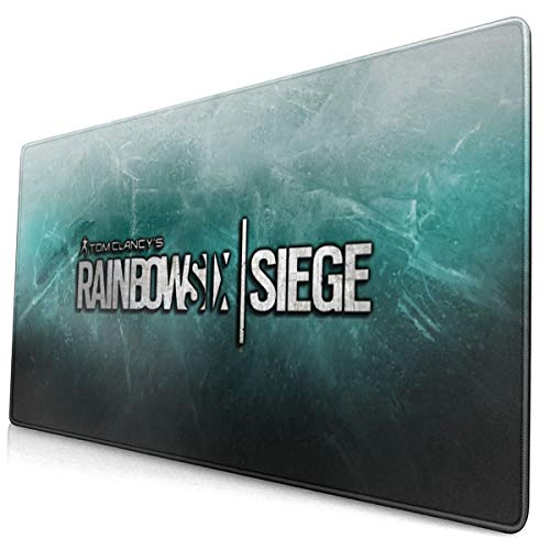 Rainbow Six Siege Gaming Mouse Pad Large Size Desk Mousepad