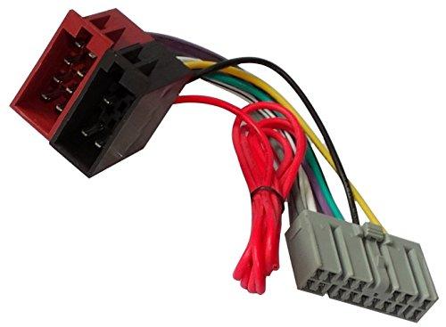 Aerzetix adapter kabelboom ISO-stekker voor autoradio origineel voor auto