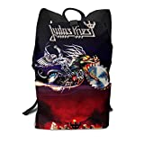 Homebe Mochila Unisex, Mochilas y Bolsas, Judas Painkiller Priest School College Bookbag for Girls Boys Fashion Travel Back Pack