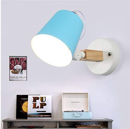 Led-wandlampen slaapkamer-bedlampje sieren de verlichting van je huis.