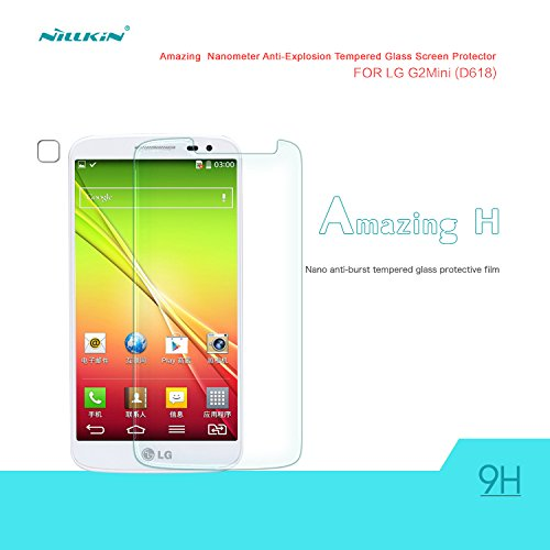Nillkin Amazing H - Protector de pantalla de cristal templado 9H para LG Optimus G2 Mini