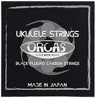 【ORCAS】 ウクレレ弦 セット ソプラノ コンサート用 (ハードゲージ Low-G)OS-HARD LG
