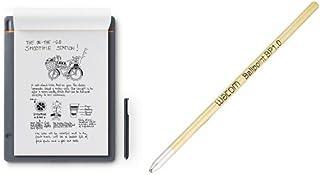 ワコム Wacom Bamboo Slate L A4対応 スマートパッド 電子ノート CDS810S +  Ballpoint Pen用替え芯(3本入り) ACK22207 セット