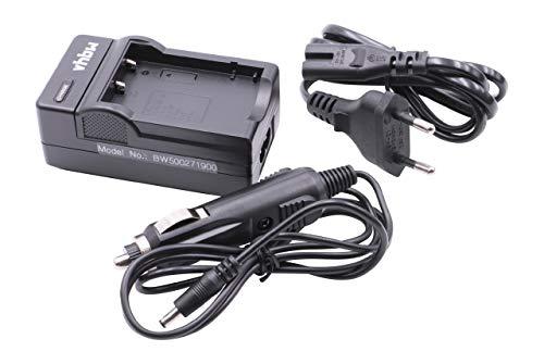 vhbw Ladegerät Netzteil mit Kfz-Lader passend für Aiptek PocketCinema T10, T15, T30, V10, V10 Plus, V20
