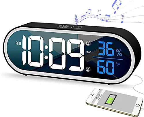 despertador con laser de la marca Lirches