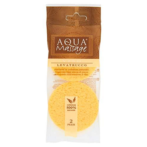 Aqua Massage – levatrucco, cotons en cellulose naturelle – 2 pièces