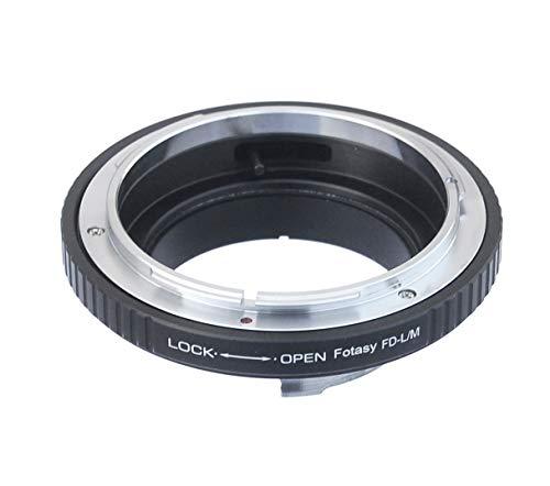 Fotasy Canon FD/FL Lens to Leica M Mount Camera Adapter, fits Leica M9, M8, M7, M6, M5, M4, M3, M2, Ricoh GXR Mount A12