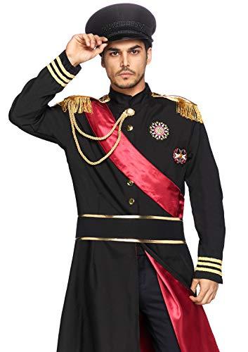 LEG AVENUE 85278 - Militär Allgemein Kostüm Set, 2-teilig, Größe M/L, schwarz