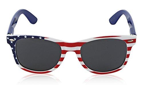 American Flag Sunglasses for Women Men America Glasses Polarized Sunglasses