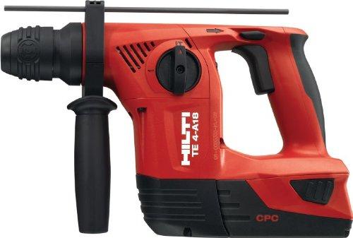 %19 OFF! Hilti 410734 Cordless Rotary Hammer TE 4-A18 Box