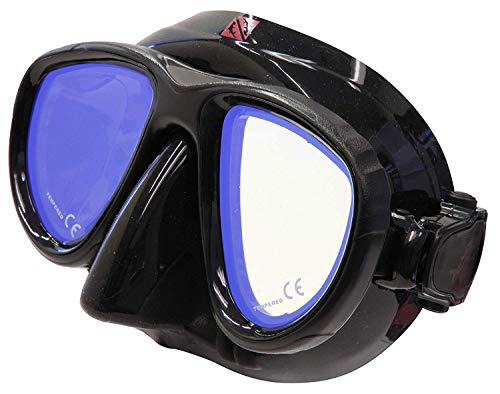 Hammerhead Spearguns MV4 Diving Mask - Ultra Clear with Amber Tint
