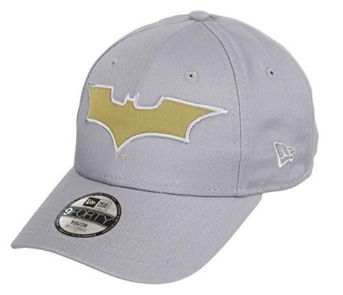 New Era Batman Grey Gold Character 9Forty Velcroback Cap Child Kind