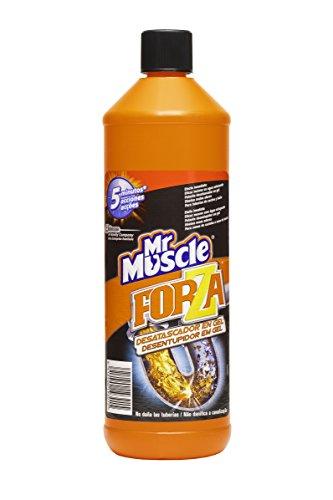 Mr Muscle - Forza Desatascador Gel Power. Gel limpia tuberías. Desatascador líquido potente desagües, 1L