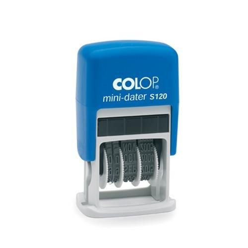 COLOP 104839 mini-dater S120 Datumsstempel schwarz