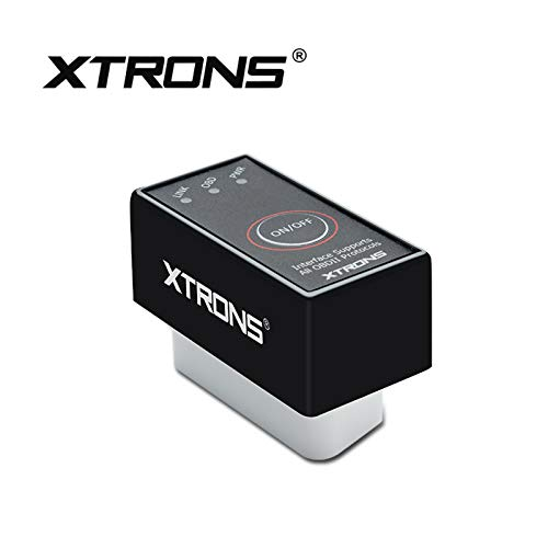 XTRONS Mini ELM327OBD2 Kfz Auto-Diagnose Scanner-Tool, Bluetooth, Android