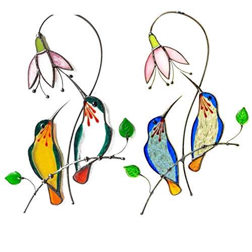 Fenster kleine Vogel Dekoration, perfekte Fenster hängen Dekoration Einzigartiges Gedenkgeschenk, Gedenkhandwerk Geschenke