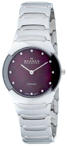Skagen Women's 582SSXDD Swiss Steel Bracelet Watch