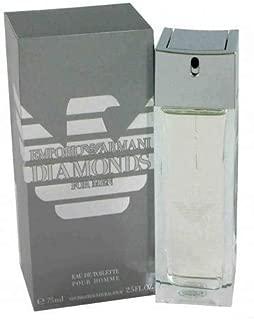 Emporio Ârmani Diamonds Cologne by Giorgîo Ârmani for Men EDT Spray 2.5 FL. OZ./75 ml