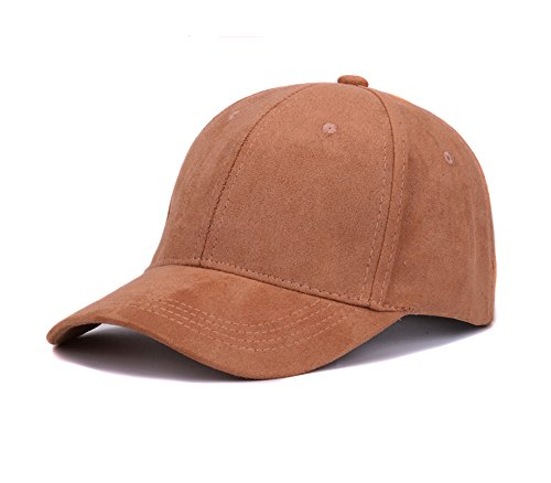 KGM Accessories Coole Rückseite aus Falscher Wildleder Baseball Cap