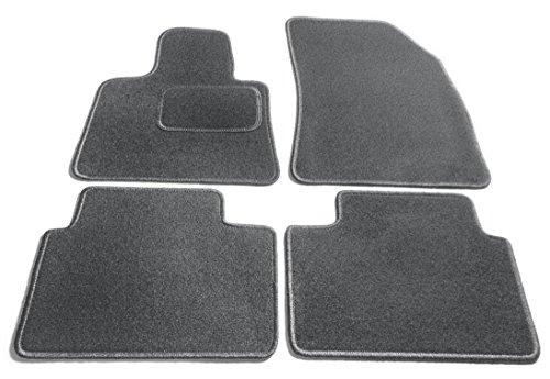 JediMats 16020-KOR-IN TEPP-SCHI Korfu maßgeschneiderte Fußmatte für Ihr Auto Schiefer In Teppichfarbe