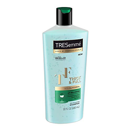 Tresemme Shampoo Thick & Full 22 Ounce (650ml) (2 Pack)
