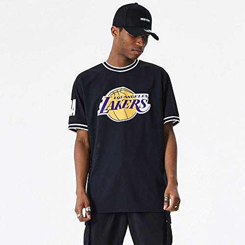 New Era Los Angeles Lakers Modelo NBA Oversized Applique tee LOSLAK Marca