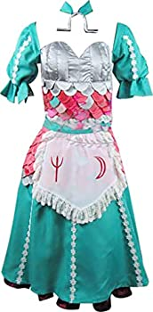 BangYan WhAnime Cosplay Anime Cosplay Costume for Alice Madness Returns Green